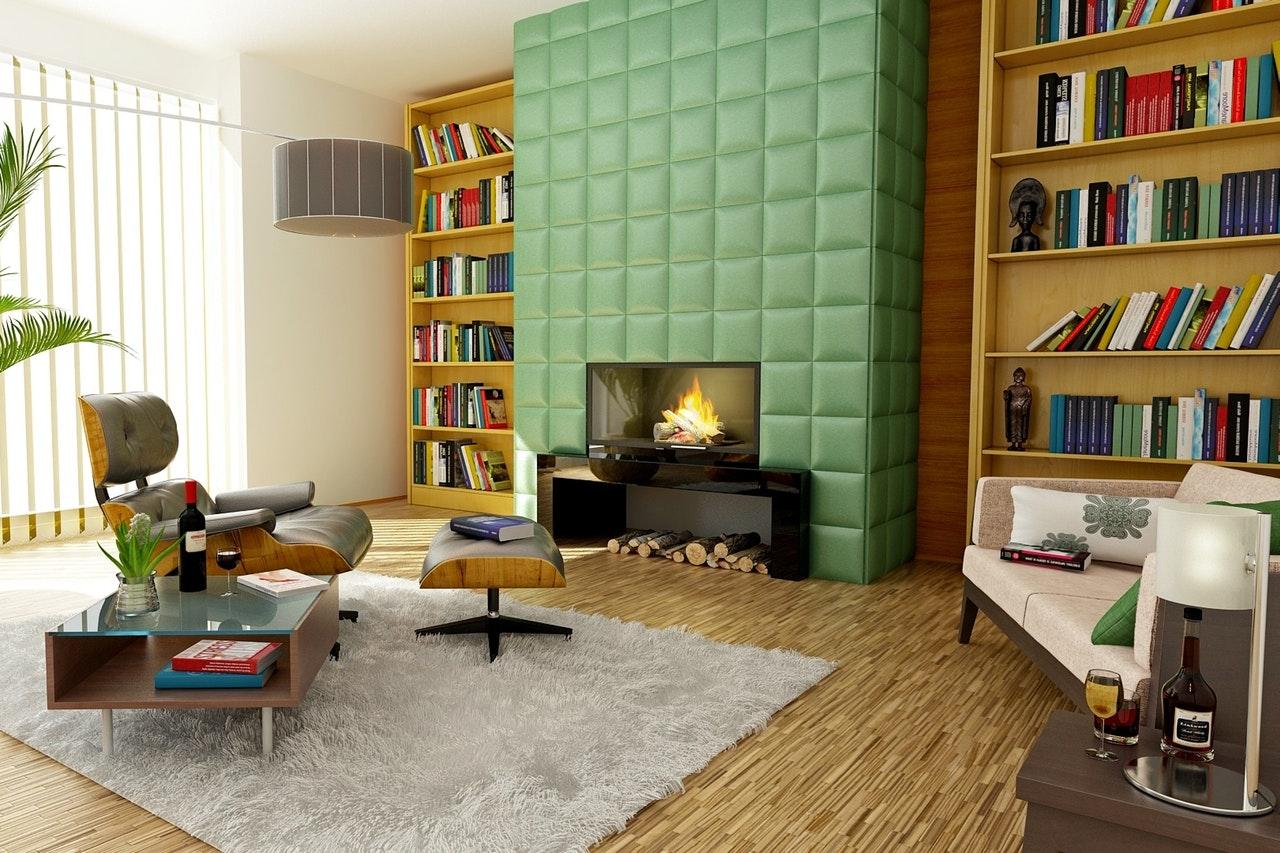 Bedroom & Office Shelf spray painters